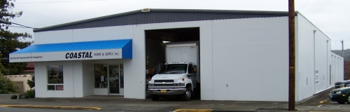 Our North Bend Oregon Store. We sell cleaning supplies and janitorial equipment. Our products  		include: Paper Products, Mops & Equipment, Can Liners and Poly, Carpet Care, Odor Control, Brushes, Brooms, Squeegees,  		Laundry, Aerosols, Food Service Items, Rubbermaid & Receptacles, Cleaners & Disinfectants, Packaging & Tape, Floor Care,  		Hand Care, Hotel Supplies, Warewash and more! Sanitation is important. Behind the North Bend Library, by the Post Office.  		Coast Paper.