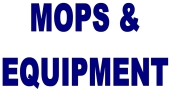 From our store in Oregon, selling cleaning supplies &  						janitorial equipment, we bring you mops, handles, buckets, wringers, dusters, and more from North Bend/Coos Bay on  						the Oregon Coast!